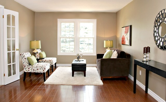 Staging room by room living room sandra best decor - Decor for small living room on budget ...