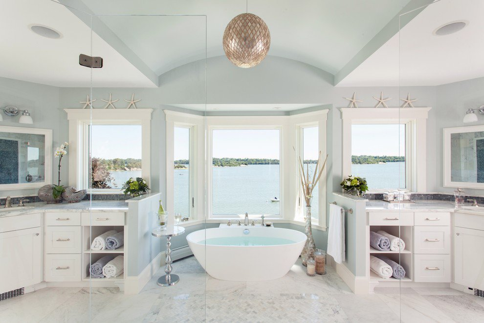 Elegant Coastal Cottage Home Bunch Interior Design Ideas