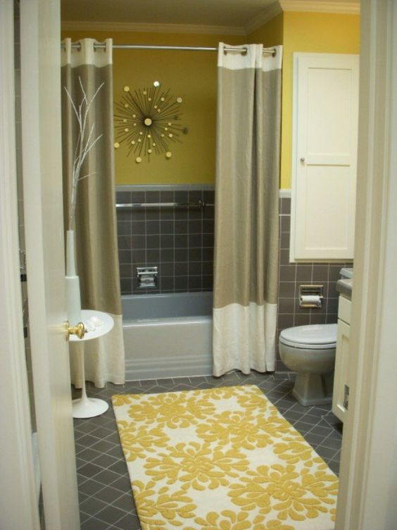 Purchase A Beautiful New Shower Curtain. 5 Practical Condo Staging Tips